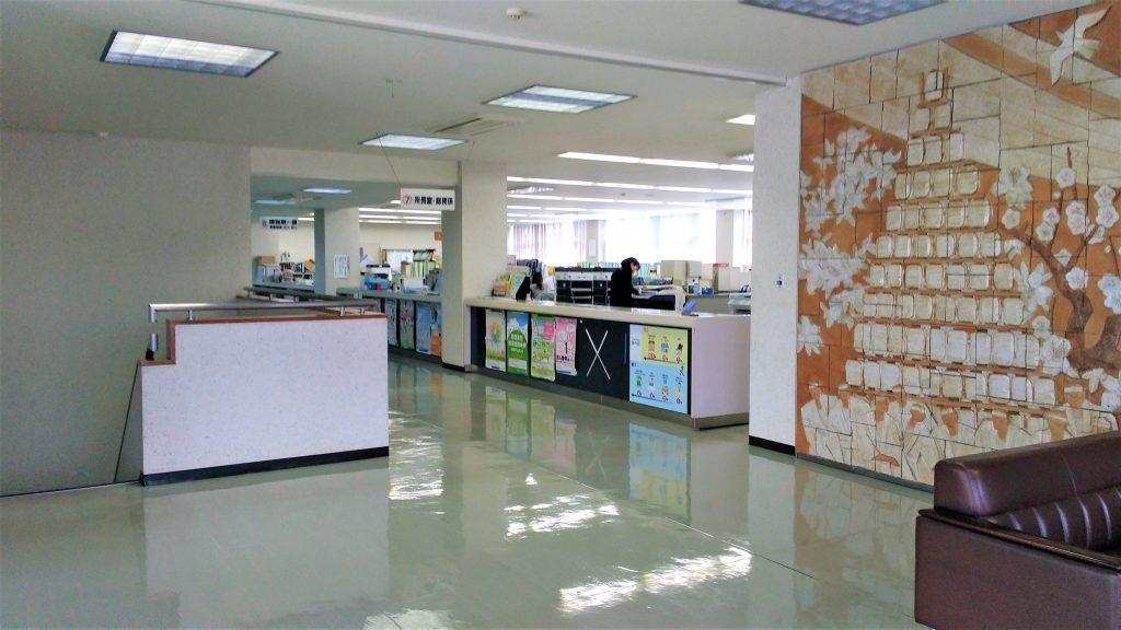 福岡県北九州西県税事務所の2階